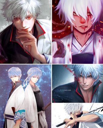 Sakata Gintoki Anime Posters Ver2
