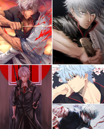 Sakata Gintoki Anime Posters Ver4