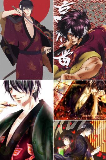 Takasugi Shinsuke Anime Posters Ver3