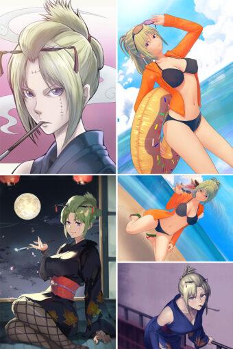 Tsukuyo Anime Posters