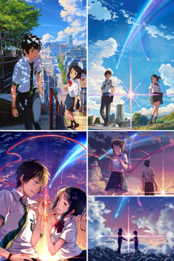 Your Name Anime Posters