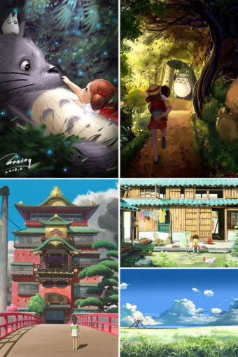 Anime Landscape Posters | Anime Posters Ver3