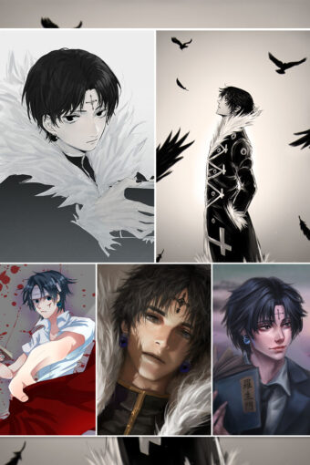 Chrollo Lucilfer Anime Posters