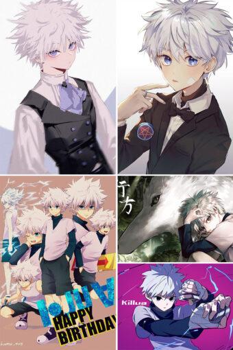 Killua Zoldyck Anime Posters Ver3