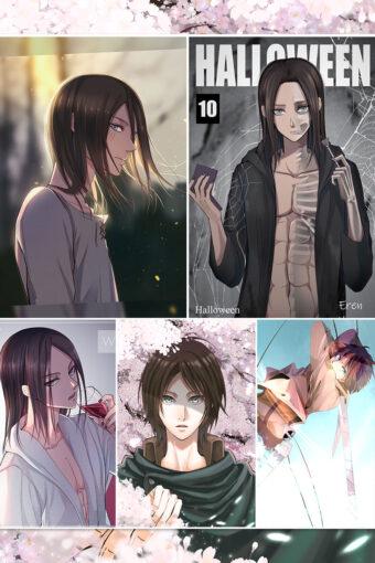 Eren Jaeger Anime Posters Ver3