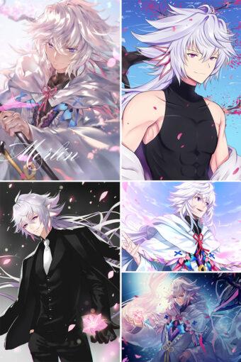 Merlin Anime Posters Ver1