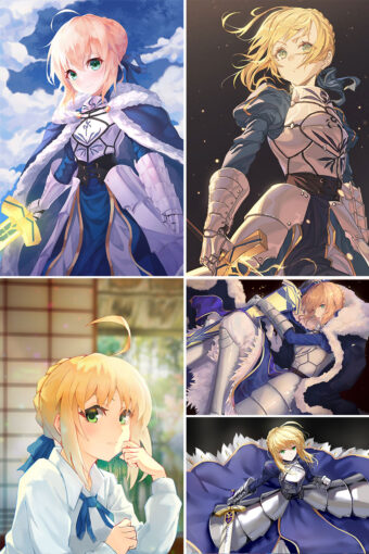 Saber Anime Posters Ver1