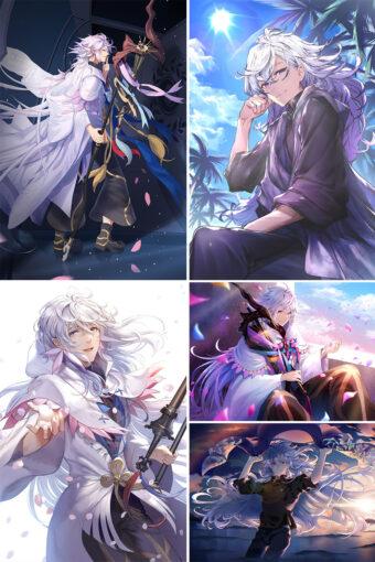 Merlin Anime Posters Ver2