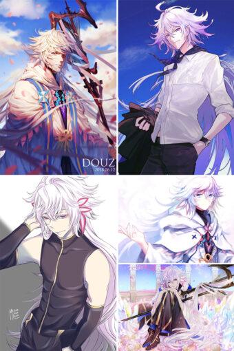 Merlin Anime Posters Ver3