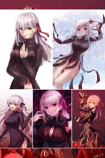 Dark Sakura Anime Posters Ver3