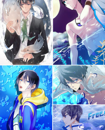 Nanase Haruka Anime Posters Ver2