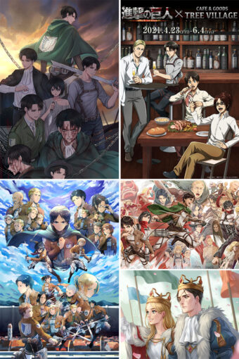 Attack on Titan Anime Posters