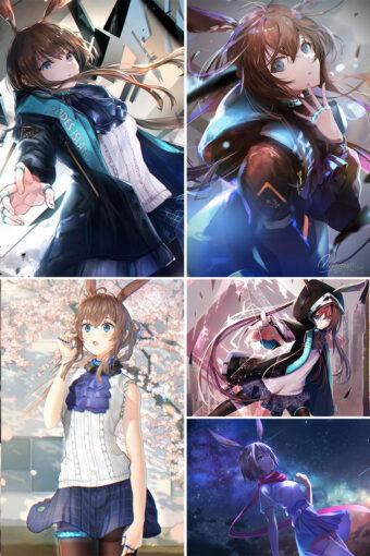 Amiya Anime Posters Ver3