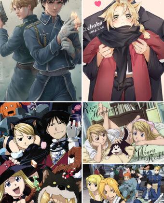 Fullmetal Alchemist Brotherhood Anime Posters Ver5
