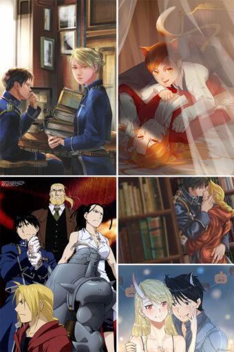 Fullmetal Alchemist Brotherhood Anime Posters Ver8