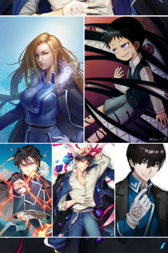 Fullmetal Alchemist Brotherhood Anime Posters Ver10