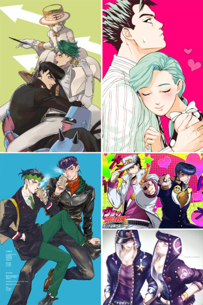 Diamond Is Unbreakable Anime Posters Ver2