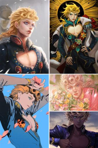 Giorno Giovanna Anime Posters