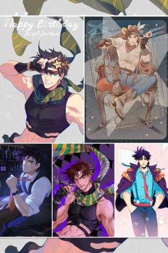 Joseph Joestar Anime Posters