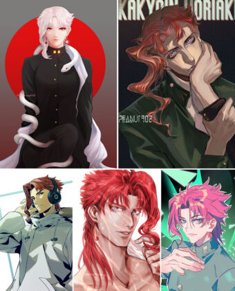 Kakyoin Noriaki Anime Posters Ver3