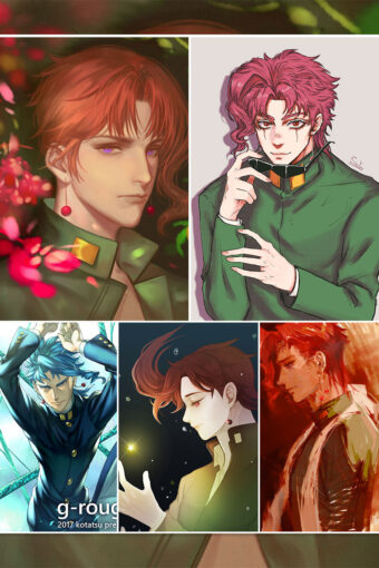 Kakyoin Noriaki Anime Posters Ver2