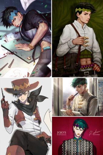 Kishibe Rohan Anime Posters