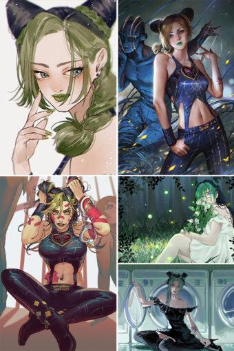 Kuujou Jolyne Anime Posters Ver1