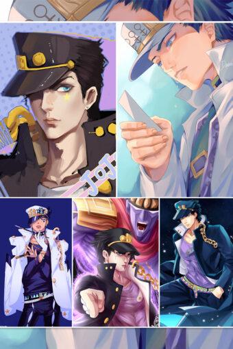 Kuujou Joutarou Anime Posters Ver2