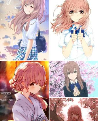 Nishimiya Shouko Anime Posters