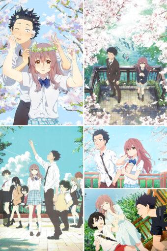 Koe no Katachi Anime Posters