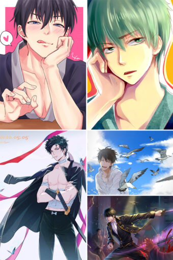 Hijikata Toushirou Anime Posters Ver1