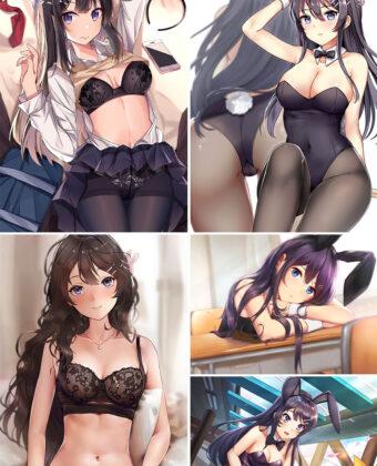 Sakurajima Mai Anime Posters Ver1