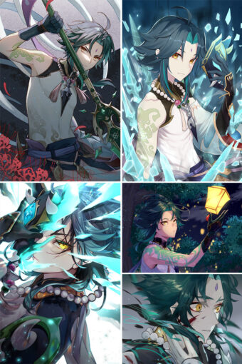 Xiao Anime Posters Ver3
