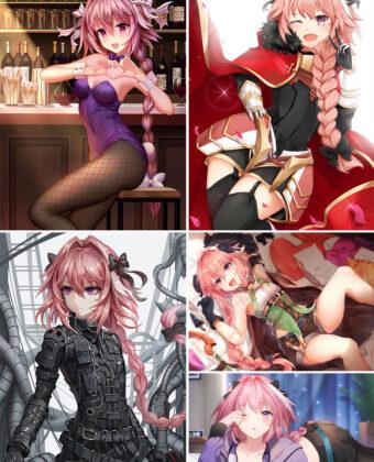Astolfo Anime Posters Ver1