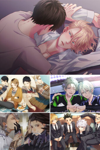 BL Anime Posters Ver6