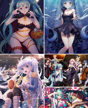 Hatsune Miku Anime Posters Ver3