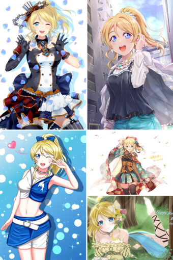 Ayase Eri Anime Posters Ver3