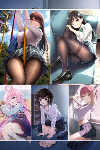 JK Uniform Anime Posters Ver14